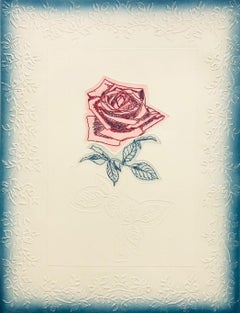 American Beauty-Limited Edition (AP) Etching with Embossing, Signed by Artist