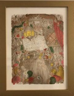 """Pookary"" Framed Prints (set of four)"