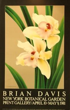 """Cymoidium V"" New York Botanical Garden Print Gallery-Poster"
