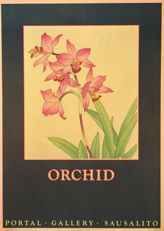 """""""Orchid"""" Portal Gallery Sausalito-Poster"""