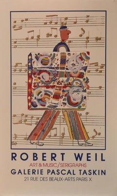 Poster-Art & Music/Serigraphs, Galerie Pascal Taskin