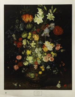 """""""Still Life of Flowers"""" Poster, Copyright 1969 New York Graphic Society"""