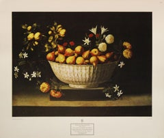 """Still Life: Flowers and Fruit"" Poster. Copyright New York Society, Inc."