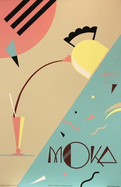 Poster-MOKA. Published & Distributed by Graphique de France