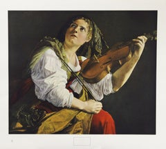 Young Woman With A Violin-Poster. New York Graphic Society Ltd.
