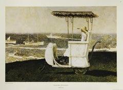 Excursion Boats, Monhegan Island-Poster. New York Graphic Society Ltd.