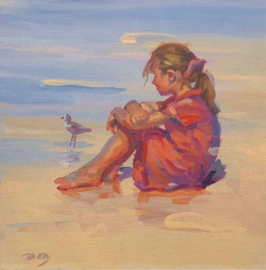 Dreamer-Limited Edition Giclée on Unstretched Canvas