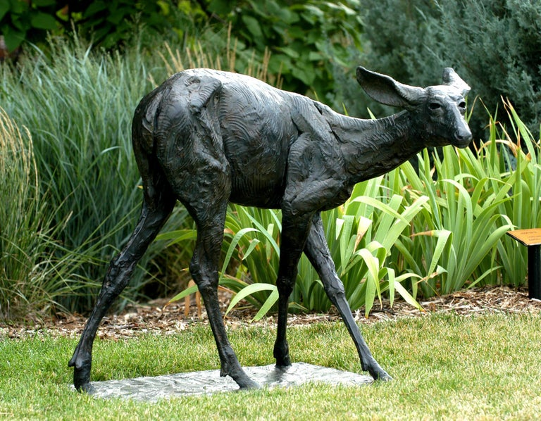 A Change of Direction - Sculpture by Darrell Davis