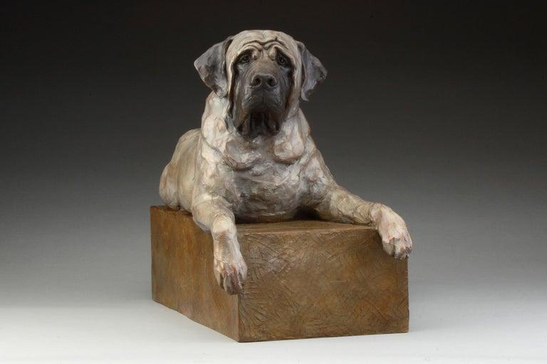 Mastiff - Contemporary Sculpture by Daniel Glanz