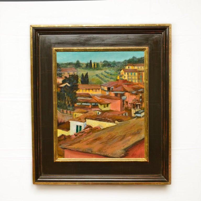 Siena Spring Study No.1 - Painting by Alyson Kinkade