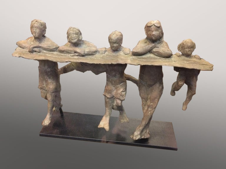 Clay Enoch Abstract Sculpture - On the Edge