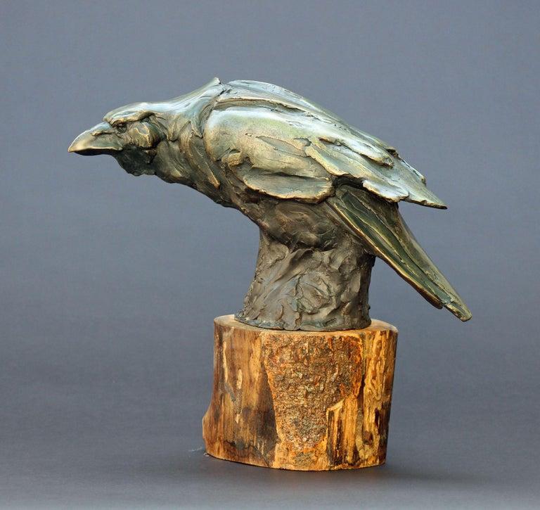 Craig Campbell Figurative Sculpture - The Messenger