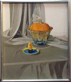Pumpkin with Art Glass