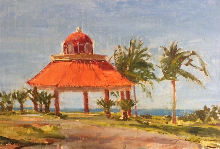Kiosks - Painting by James Biggers