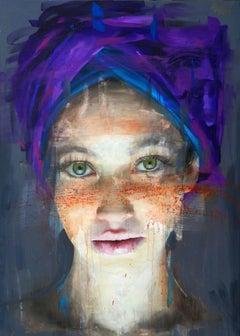 Matilde with Purple Turban