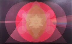 Sovereign Portal, 2020, pink, purple, sacred geometry, Vesica Pisces Womb, prism