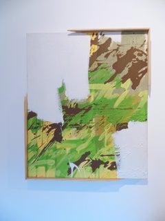 Negative(s) Pace, 2012, graffiti, street art, green, text, abstract, brown