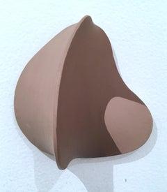 I Am Brown, I Am Unique, And I Matter, 2018, wall sculpture, dimensional canvas
