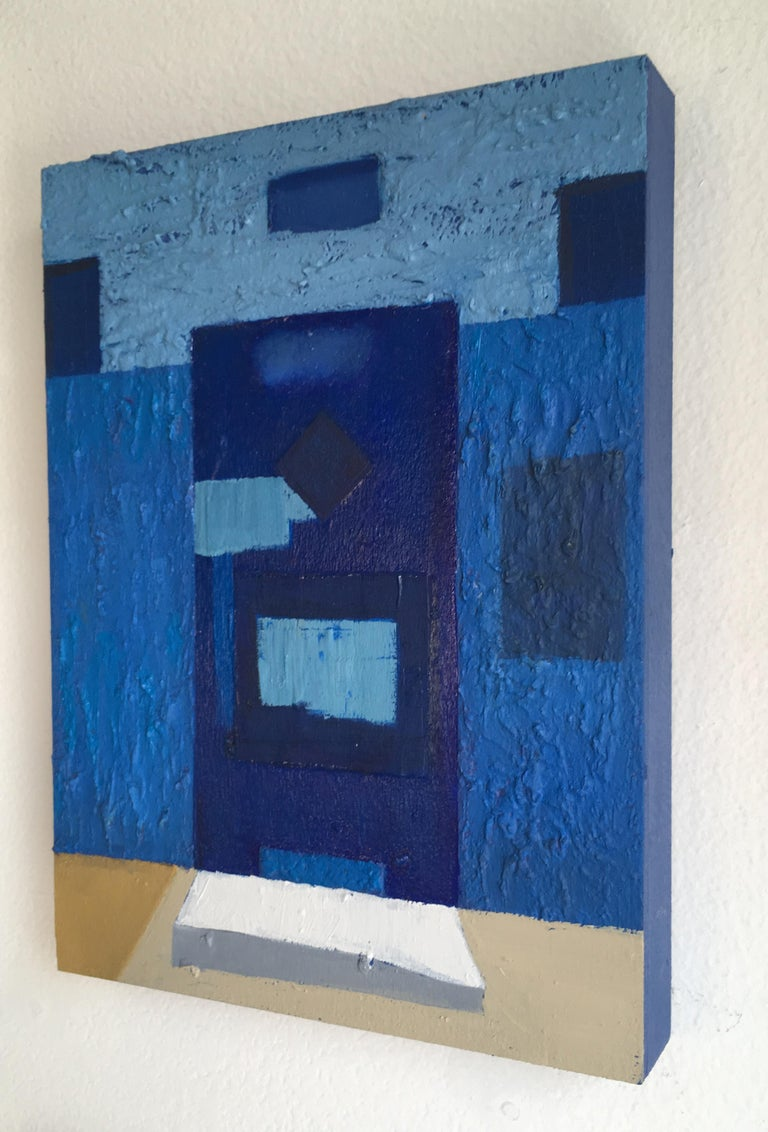 Door #15 - Contemporary Painting by Francesca Reyes