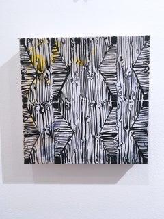 Maelstrom Mini 1, 2019, acrylic, canvas, pattern