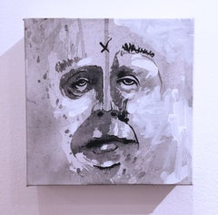 Blockhead, 2019, acrylic, canvas, figurative