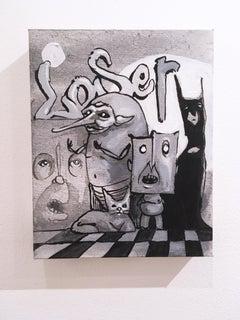 Loser, 2019, acrylic, canvas, figurative