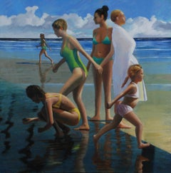 "Low Tide""  David Ahlsted Oil on Canvas, 36 x 36"", Retail $ 3,600.00"