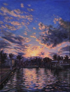 """""""A Resplendent Recollection""""   Key West  Impressionism  In Stock"""