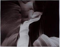 "Hideoki, Black & White, Photography, Antelope Canyon, 2004, 16"" x 20"""