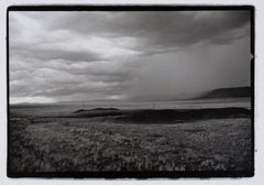 """Hideoki, Black & White, Landscape, Chile, 2002, 16"""" x 20"""""""