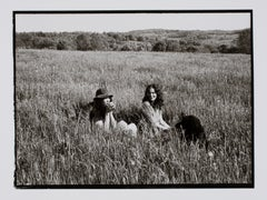 Hideoki, Black & White Photography, Friends in a Field of Grass, Montauk, 1970