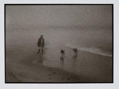 Hideoki, Black & White Photography, Gray and Gay on Beach of Montauk, 1970