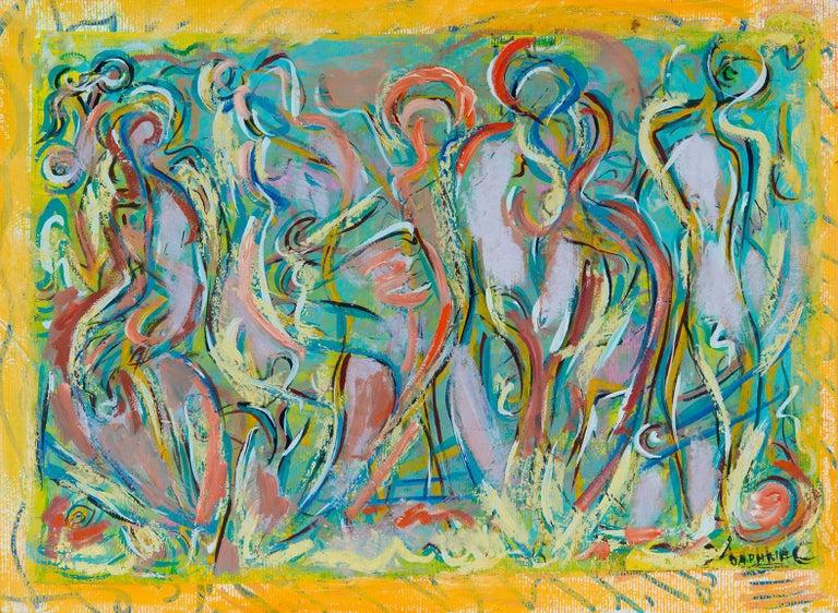 Persons 1 - Art by Daphne Anastassiou