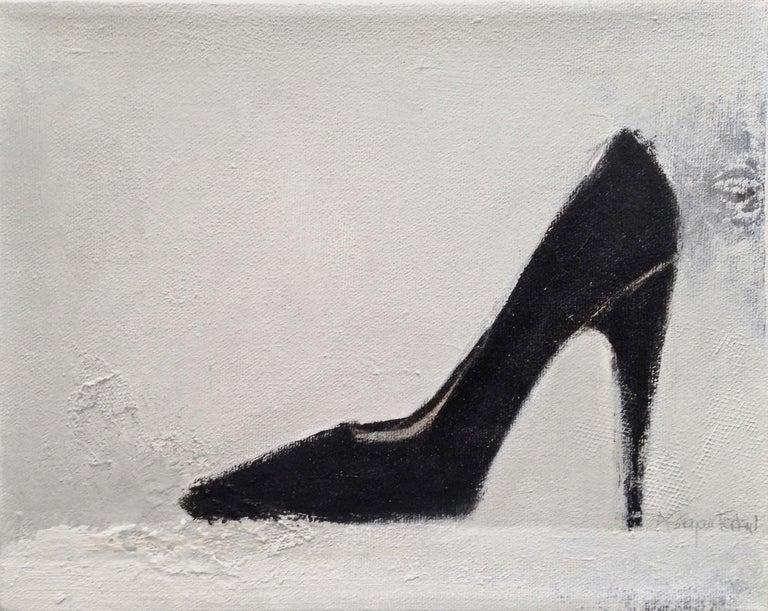 Andrea Stajan-Ferkul Still-Life Painting - Shoe Painting #3