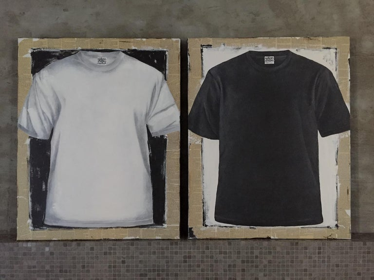Untitled, T-shirt 2 (series 1 - 9)  For Sale 8