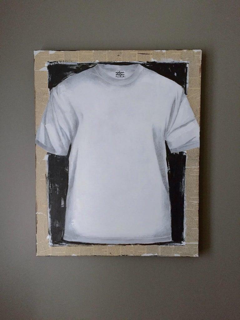 Untitled, T-shirt 2 (series 1 - 9)  - Contemporary Art by Andrea Stajan-Ferkul