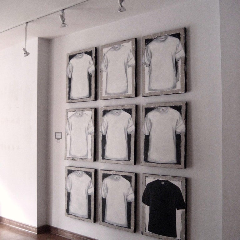 Untitled, T-shirt 2 (series 1 - 9)  For Sale 10