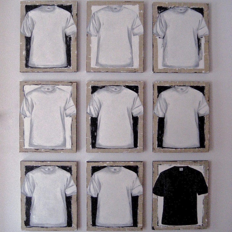 Untitled, T-shirt 2 (series 1 - 9)  For Sale 9