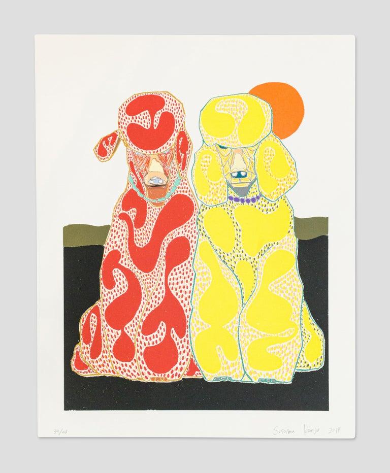Susumu Kamijo Animal Print - Day Trippers