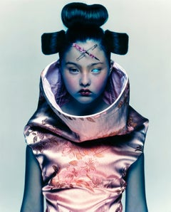Devon – Nick Knight, Model, Fashion, Asia, Portrait, Photograhpy, 90s, pink