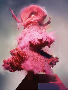 Lily – Nick Knight, Photography, Pink, Woman, Fashion, Dress, Contemporary