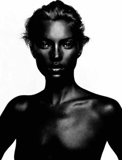 Kate – Nick Knight, Black Kate, Model, Kate Moss, Fashion, Contemporary, Photo