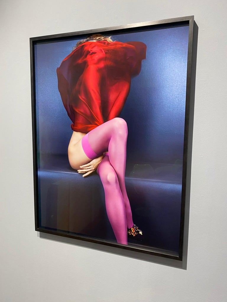 Camille Red & Pink – Emma Summerton, Red, Pink, Stockings, Nude, Woman, Blonde For Sale 3