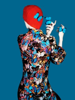 Without A Face (Valentino) – Erik Madigan Heck, Abstract, Butterfly, Fashion