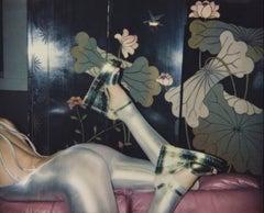 AC Silver Legs – Emma Summerton, Polaroid, High Heels, Fashion, Art