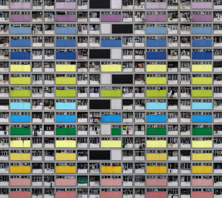 MICHAEL WOLF (*1954, Germany)  Architecture of Density #a99 2007 C-print Sheet 121.9 x 137.2 cm (48 x 54 in.)  Frame 125 x 142 x 4 cm (49 1/4 x 55 7/8 x 1 5/8 in.)  Edition of 9, plus 2 AP; 9/9 (last available edition) print only   Michael Wolf was
