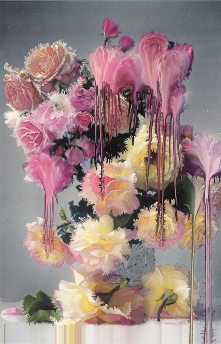 NICK KNIGHT (*1958, Great Britain)  Rose 1 2012 Hand-coated pigment print Sheet 157.48 x 76.2 cm (62 x 30 in.) Edition of 9, plus 2 AP; Ed. no. 4/9 print only  Nick Knight is among the world's most influential and visionary photographers. He has
