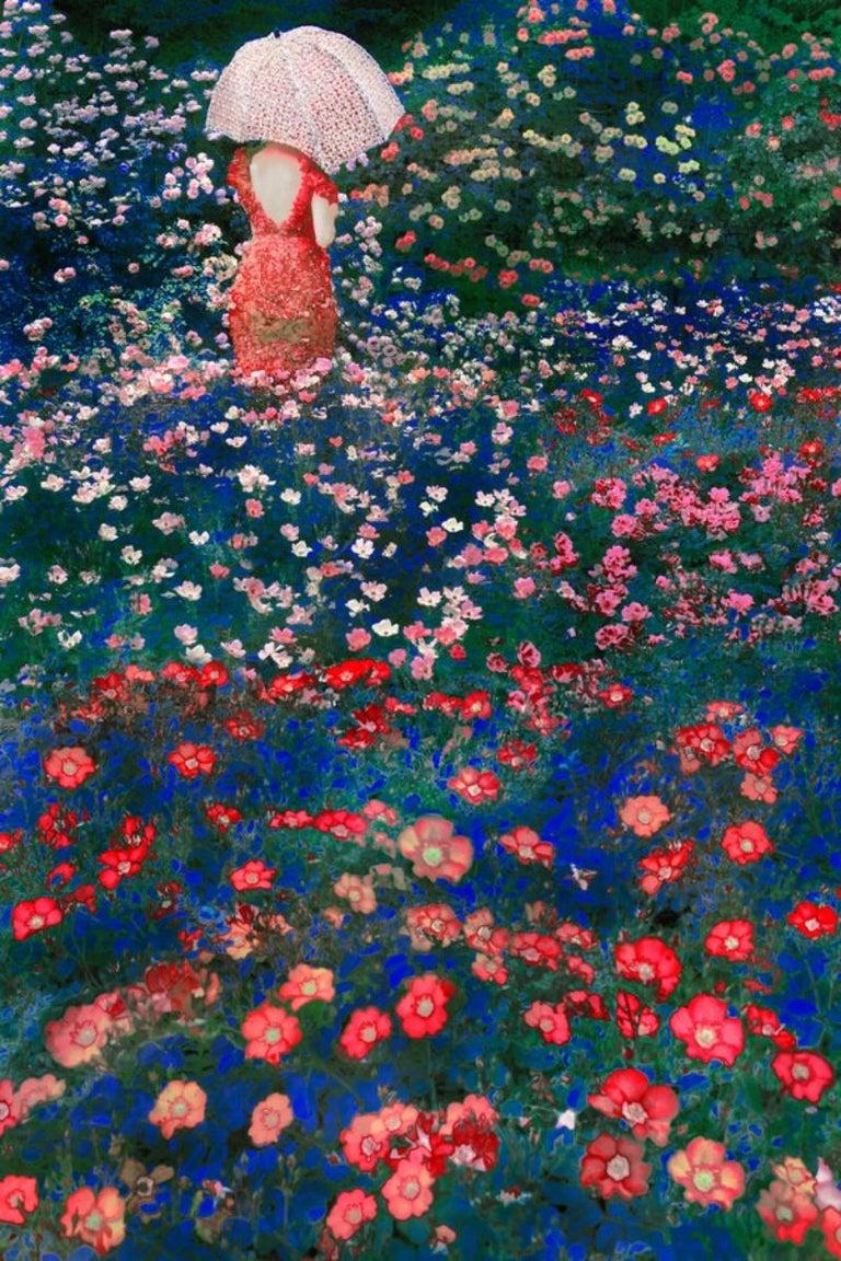 Umbrella, from the series 'The Garden' – Erik Madigan Heck, Flower, Garden - Photograph by Erik Madigan Heck