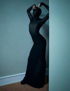 Dree for Stern #2 – Emma Summerton, Fashion, Woman, Erotic, Model, Black Dress