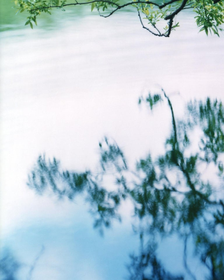 RISAKU SUZUKI (*1963, Japan) Water Mirror 17, WM-758 2017 Chromogenic print Sheet 120 x 155 cm (47 1/4 x 61 in.) Edition of 5; Ed. no. 4/5 Print only  'Water Mirror'is a condensation of all that makes Suzuki's photography so appealing: his profound